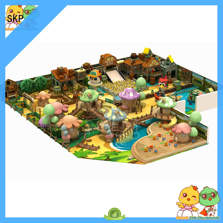 SKP security Christmas theme playground high quality for shopping mall
