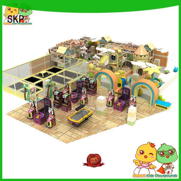SKP safe maze equipment supplier for playground