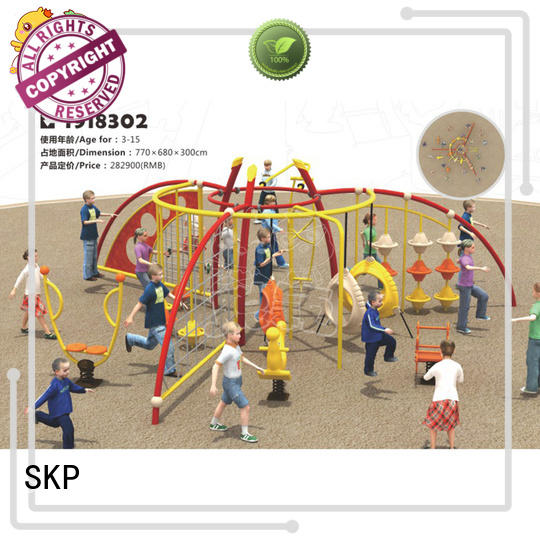 healthy climbing equipment wall for fairground
