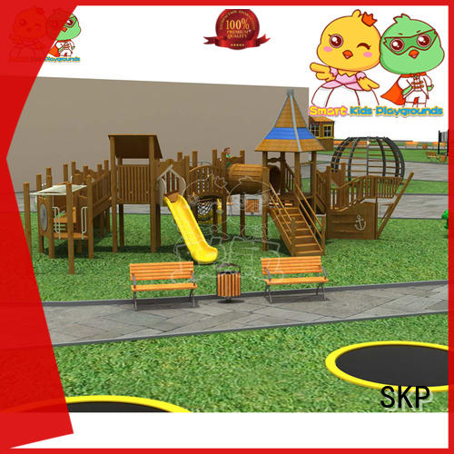 SKP park playground slide wholesale for kindergarten