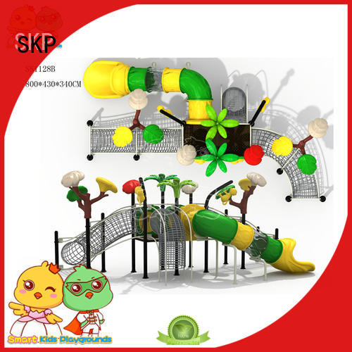 SKP durable playset slides slidesjungle for pre-school