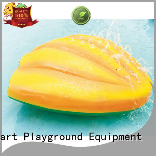 SKP security water slides simple assembly for play centre