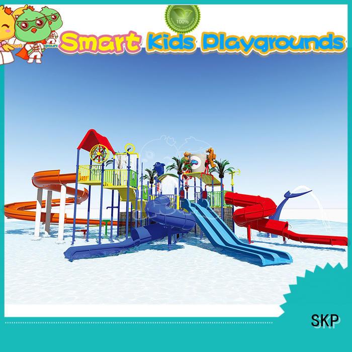 SKP colorful park water slides promotion for plaza