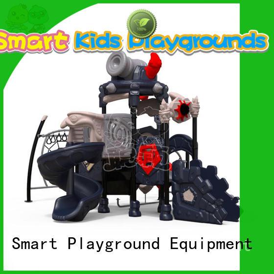 SKP amusement plastic slide for residential area