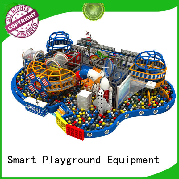 soft space theme playground maze Slide for kindergarden