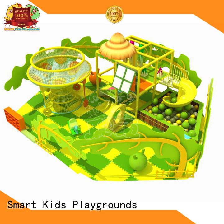 trampoline indoor jungle gym trampoline for playground Smart Kids Playgrounds