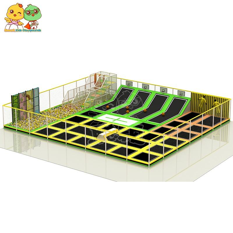 security trampoline park equipment sale on sale for amusement park-1