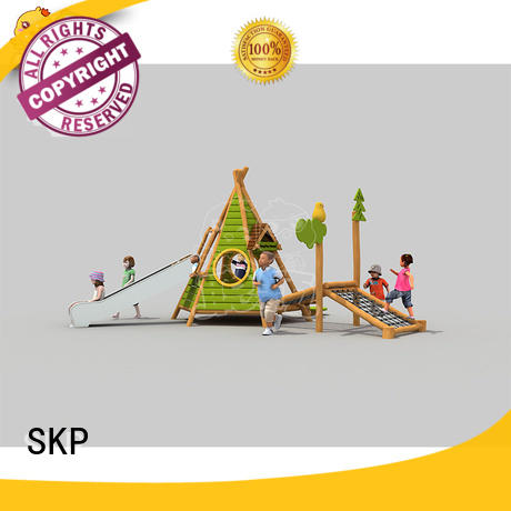 SKP funny climbing wall exercise for park