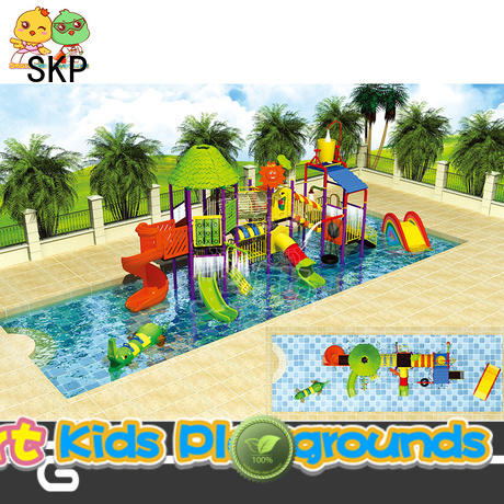 SKP security park water slides factory price for plaza