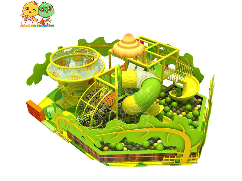 durable jungle gym playground theme puzzle game for Kindergarden-1