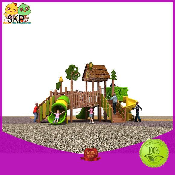 wooden slide wooden for pre-school SKP