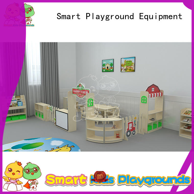 SKP professional kids desk and chair set role for preschool