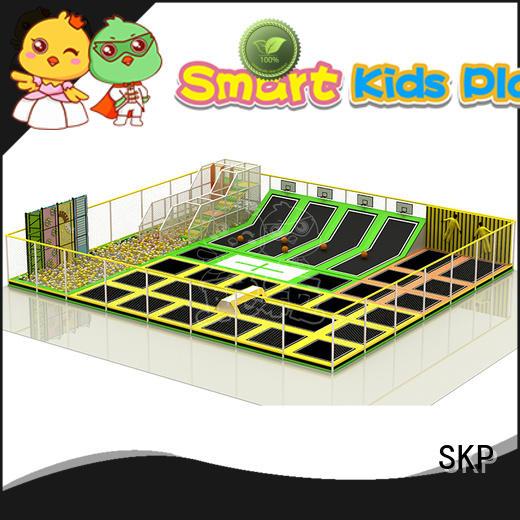 SKP Customized trampoline park for fitness for school