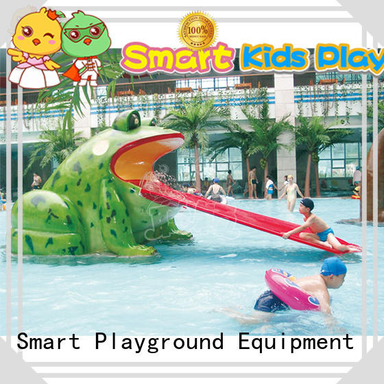 SKP colorful kids water slide slide for playground