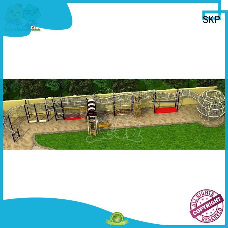 SKP park climbing equipment safety for fairground