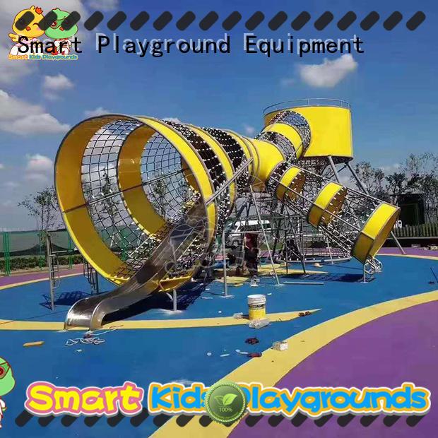 durable kids slide plastic factory for residential area