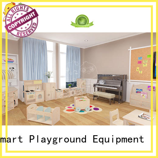 SKP durable childrens wooden table and chairs special design for Classroom
