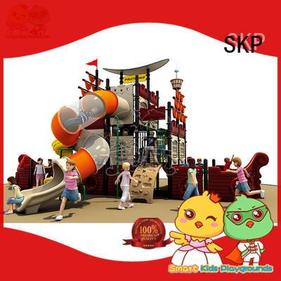SKP high quality kids slide factory for supermarket