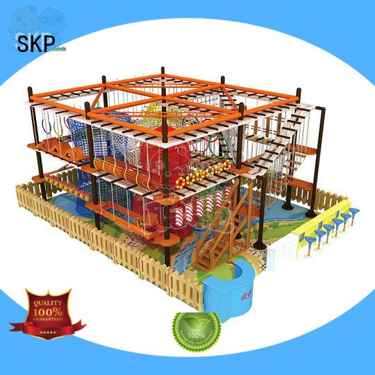 SKP challenge adventure equipment supplier for playground