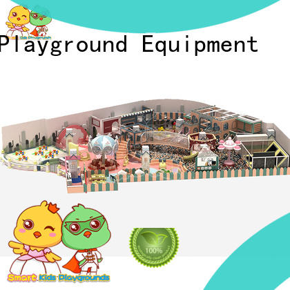SKP customized wooden playground equipment for fitness for play centre