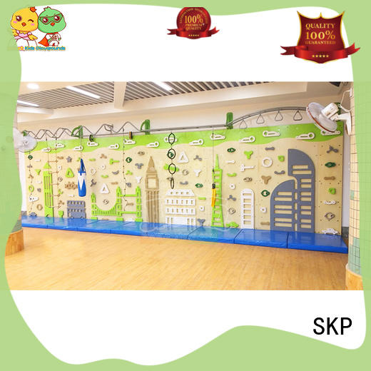 SKP high quality climbing wall safety for park