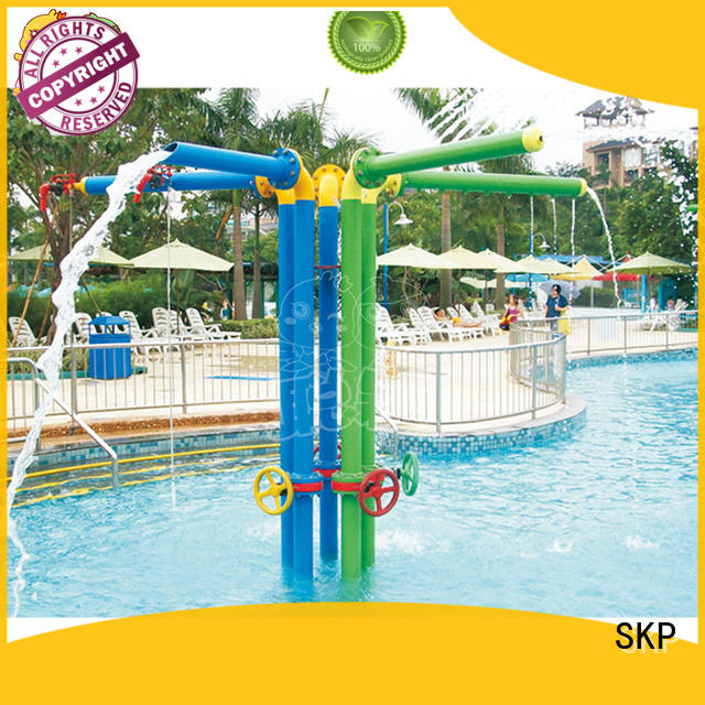 SKP security water park playground simple assembly for amusement park