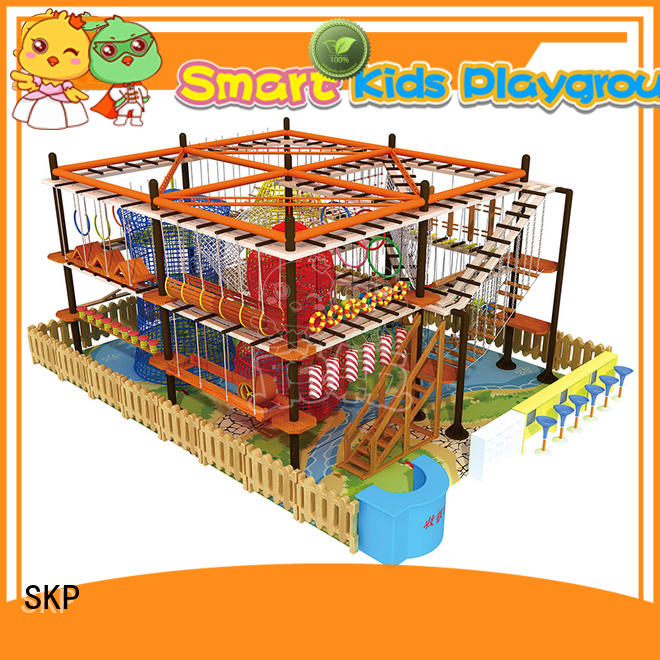 SKP customized adventure equipment for fitness for play centre