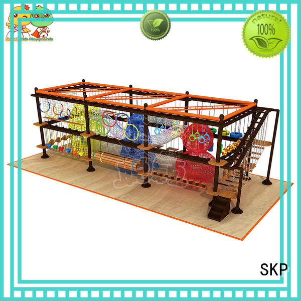SKP funny rope play equipment for challenge for playground