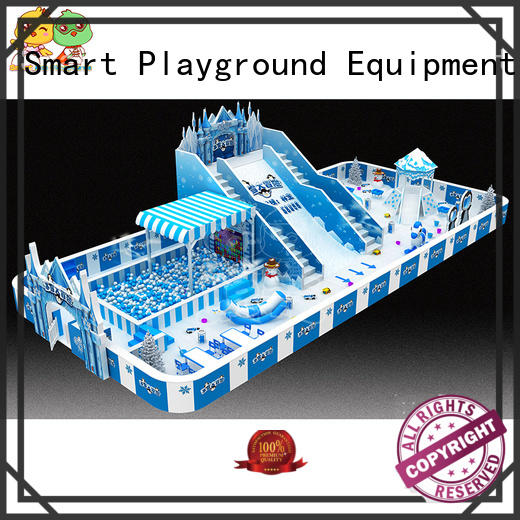 SKP snow theme playground wholesale for kindergarten