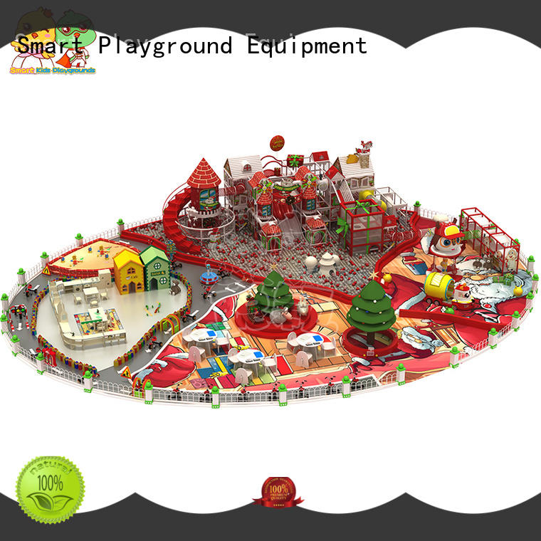 SKP customized wooden playground equipment for kids fun for plaza
