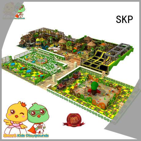 SKP amusement childrens jungle gym factory price for Kindergarden