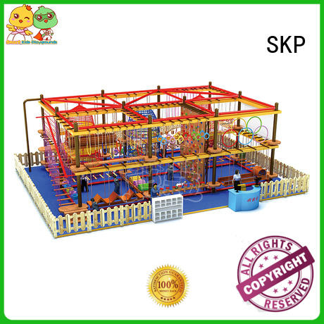 popular rope play equipment challenge supplier for shopping mall
