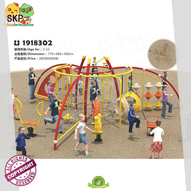 SKP outdoor climbing wall exercise for public places