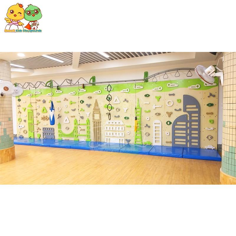 SKP high quality climbing wall on sale for fairground-1