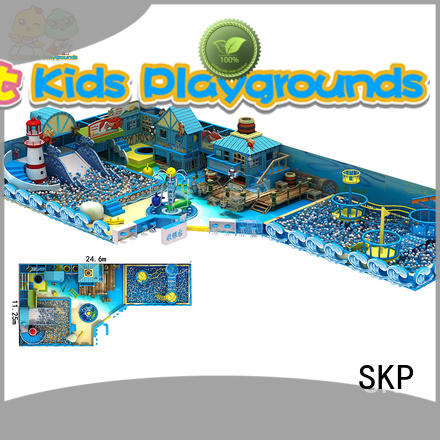 SKP playground ocean themed playground from China for amusement park
