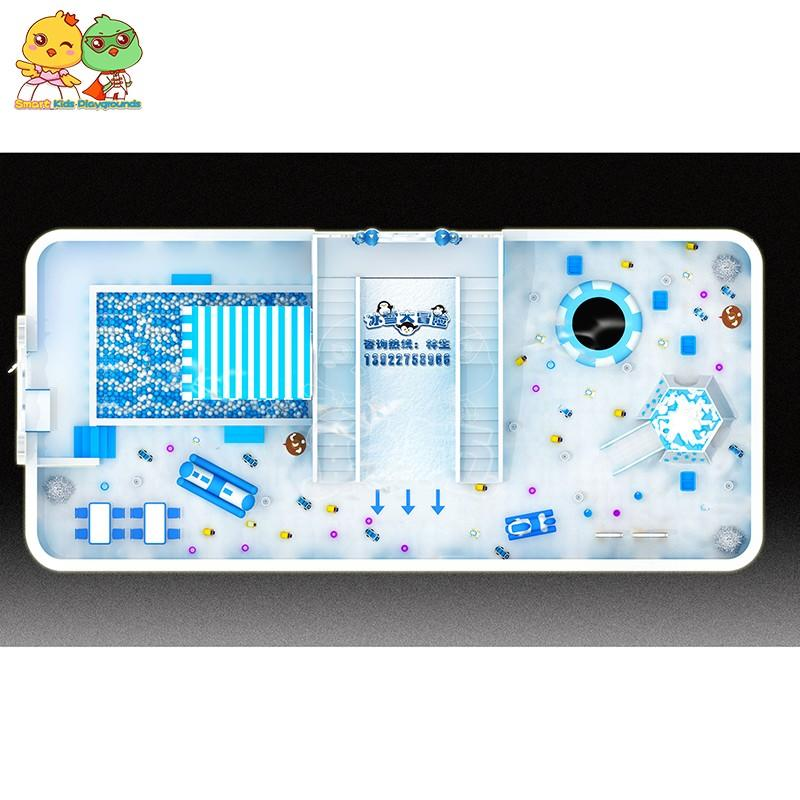 best price snow theme playground wholesale for Classroom-3