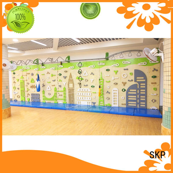 SKP funny climbing wall safety for park