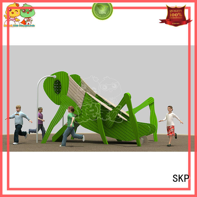SKP prices plastic slide factory for kindergarten