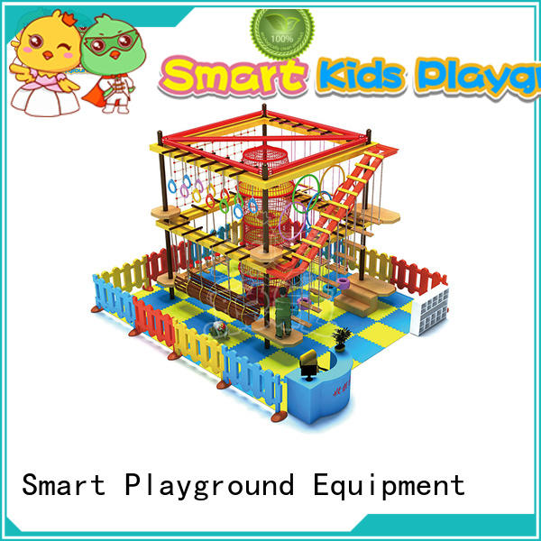 SKP indoor rope play equipment for challenge for play house