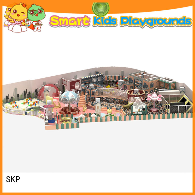 SKP funny candy theme playground for fitness for play centre