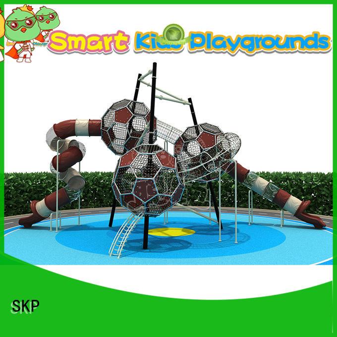SKP durable plastic slide factory for Amusement park