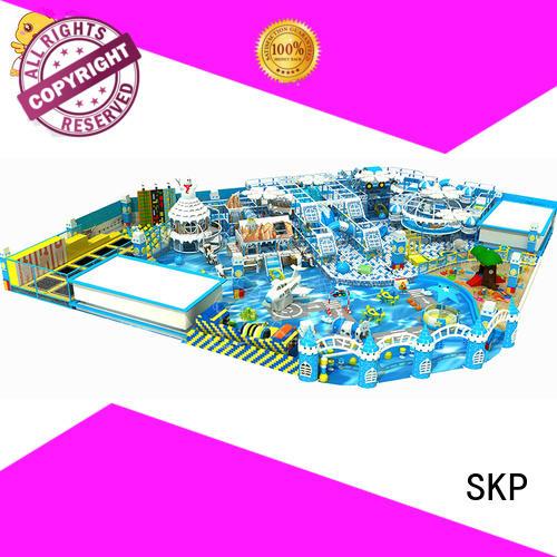 SKP safe snow theme playground promotion for preschool