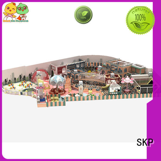 funny candy theme playground wholesale for indoor