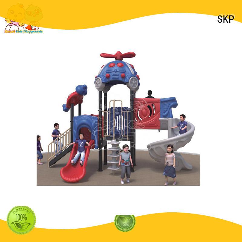 SKP children wooden slide factory for Amusement park