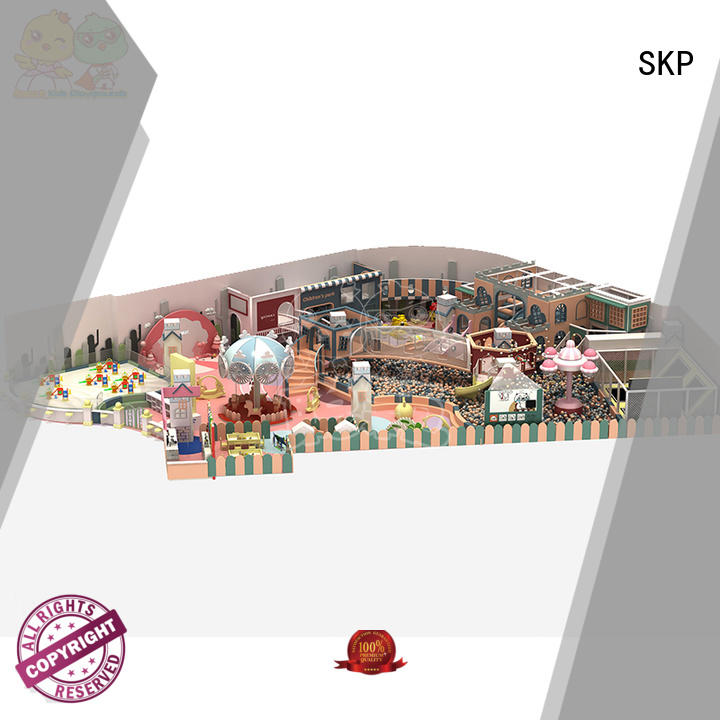 SKP funny candy theme playground supplier for shopping centre