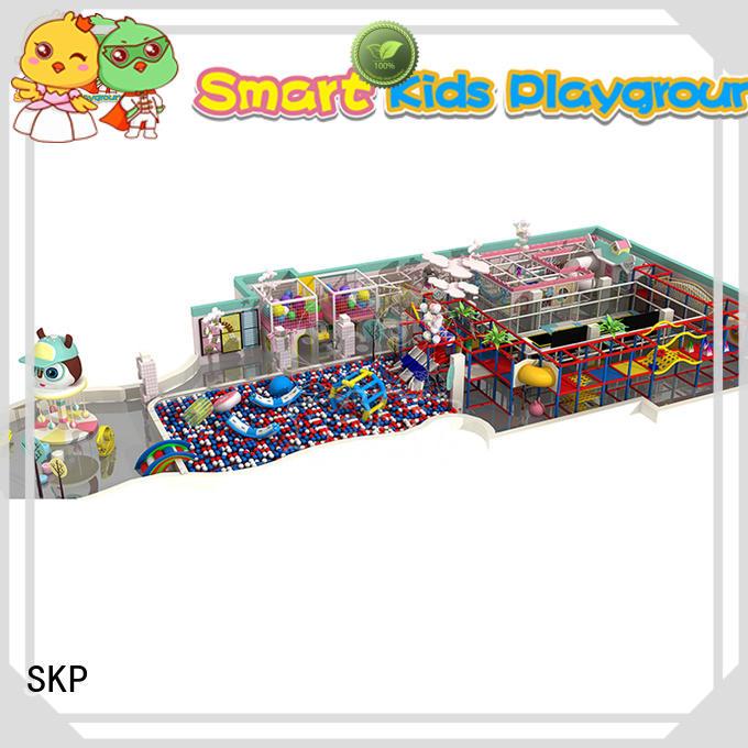 SKP park space theme playground factory price for kindergarden