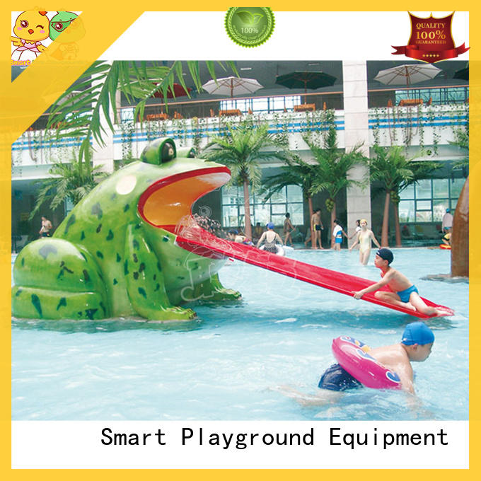 SKP durable park water slides simple assembly for play centre