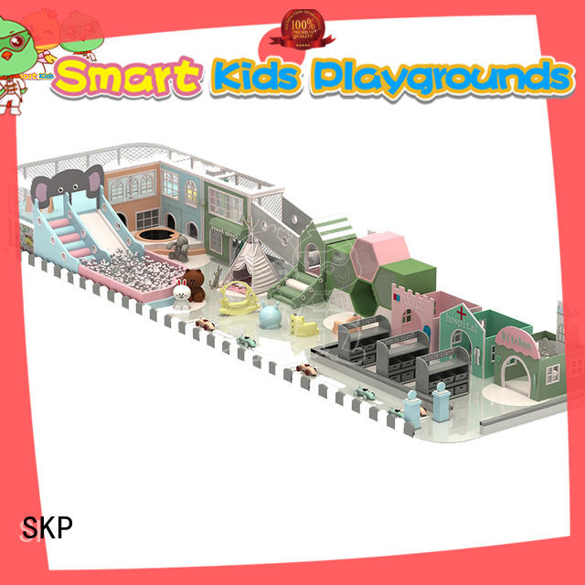 SKP funny maze equipment supplier for play house