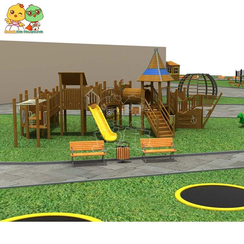safe toy slide for residential area-1