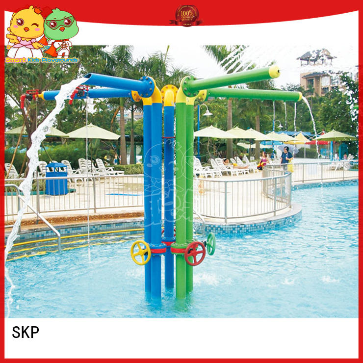 SKP colorful water park playground factory price for plaza